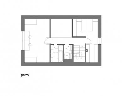 Rodinný dům v Popovičkách II - Patro