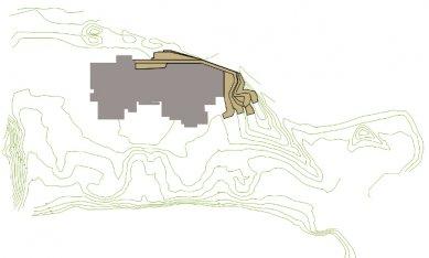 Rozšíření muzea moderního umění - Situace - foto: Manuelle Gautrand Architecture