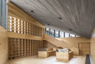 Krkonošské centrum environmentálního vzdělávání (KCEV) - Laboratoř s knihovnou - foto: Benedikt Markel