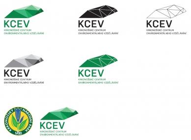 Krkonošské centrum environmentálního vzdělávání (KCEV) - Logo KCEV - foto: © Petr Hájek Architekti