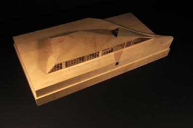 Krkonošské centrum environmentálního vzdělávání (KCEV) - Model - foto: © Petr Hájek Architekti