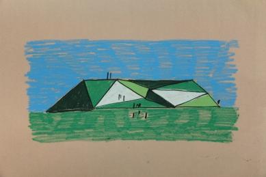 Krkonošské centrum environmentálního vzdělávání (KCEV) - Ideová skica - foto: © Petr Hájek Architekti