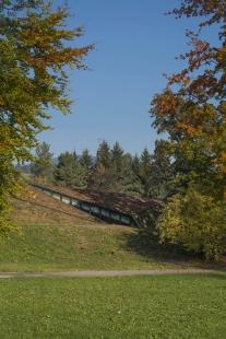 Krkonošské centrum environmentálního vzdělávání (KCEV) - Pohled ze zámeckého parku - foto: Benedikt Markel