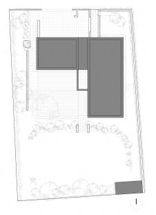 Rodinný dům Dolní Chabry - Situace