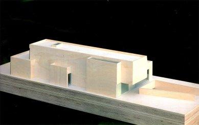 Vila Geurten - Model - foto: IR Wiel Arets Architect & Associates