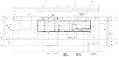 Vila Geurten - Půdorys 1.np - foto: IR Wiel Arets Architect & Associates