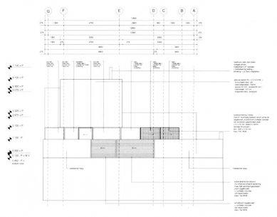 Vila Geurten - Uliční fasáda - jihovýchod - foto: IR Wiel Arets Architect & Associates