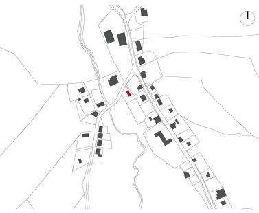 Dům v Perninku - Situace