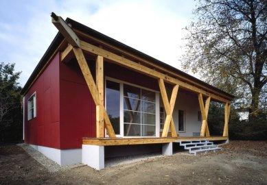 Rodinný dům s obytnou terasou - foto: Filip Šlapal