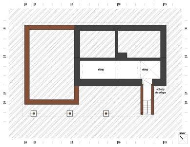 Rodinný dům s obytnou terasou - Suterén