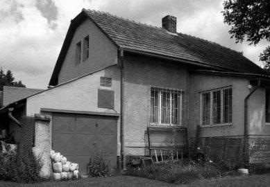 Rodinný dům s obytnou terasou - Původní stav - foto: archiv autora