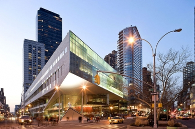 Alice Tully Hall Lincoln Center - foto: Iwan Baan