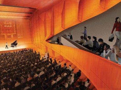 Alice Tully Hall Lincoln Center - foto: Image courtesy Diller + Scofidio