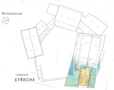 Usedlost v Orlově u Příbrami - Střecha