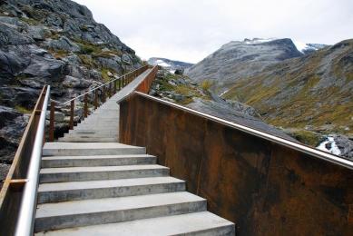 Trollstigen - projekt národní turistické cesty - foto: Reiulf Ramstad Arkitekter