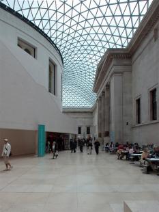 Queen Elizabeth ll Great Court, British Museum - foto: Petr Šmídek, 2004