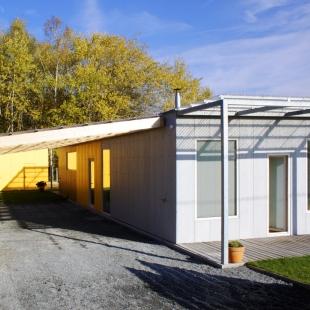 Ekologický rodinný dům v Senci u Plzně - foto: Archiv autorů