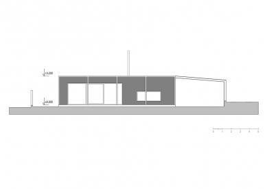 Ekologický rodinný dům v Senci u Plzně - Pohled sever