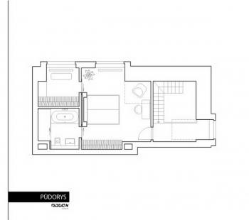Interiér bytu Podvinný Mlýn