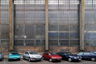 Turbínová hala AEG - foto: Petr Šmídek, 2008
