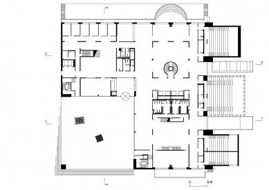 Nová budova ČVUT - 1. NP