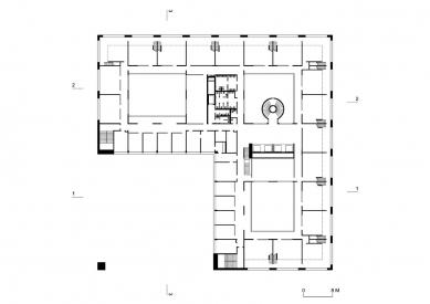 Nová budova ČVUT - 7. NP