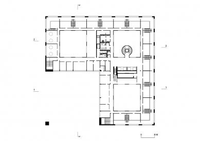 Nová budova ČVUT - 8. NP
