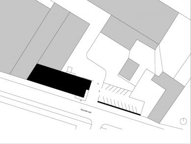 Obchodní centrum PORT - Situace - foto: Pinkas Žalský Architekti
