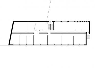 Obchodní centrum PORT - Půdorys 1.np - foto: Pinkas Žalský Architekti