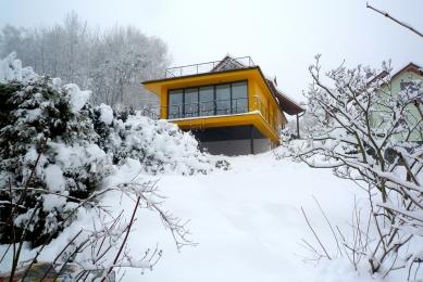 Dostavba rodinného domu v Kostelci u Heřmanova Městce - foto: Pinkas Žalský Architekti