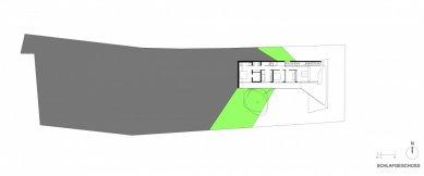Skládaný dům - Level 3 - foto: x architekten