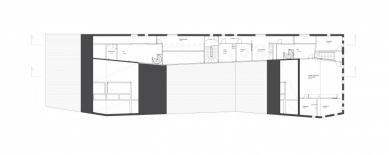 Mateřská škola ve Fagerborgu - Půdorys 1.np - foto: Reiulf Ramstad Arkitekter