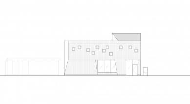 Mateřská škola ve Fagerborgu - Jižní fasáda - foto: Reiulf Ramstad Arkitekter