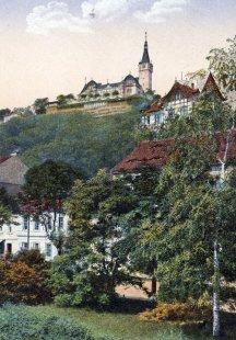 Výletní restaurace Větruše - Historická pohlednice