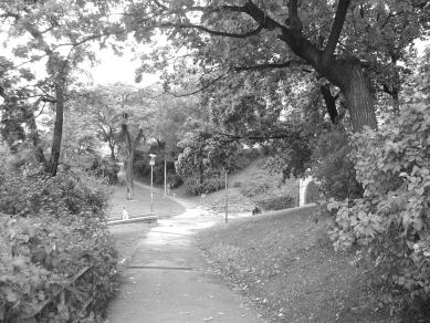 Revitalizace městského parku Studánka - Původní stav - foto: archiv Ateliéru Brno