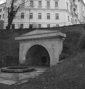 Revitalizace městského parku Studánka - Fons Salutis - původní stav - foto: archiv Ateliéru Brno