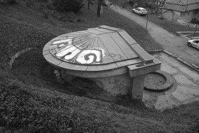 Revitalizace městského parku Studánka - Pohled z Husovy ulice - původní stav - foto: archiv Ateliéru Brno