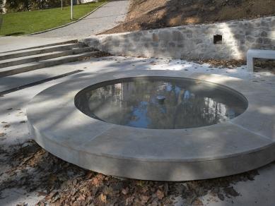 Revitalizace městského parku Studánka - Kašna - současný stav - foto: Filip Šlapal