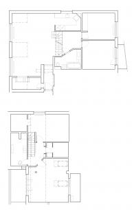 Interiér bytu v Brně-Medlánkách - Půdorys - původní stav
