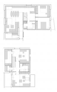 Interiér bytu v Brně-Medlánkách - Půdorys - současný stav