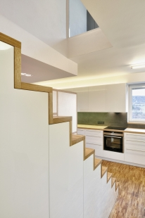 Interiér bytu v Brně-Medlánkách - foto: Gabriel Dvořák