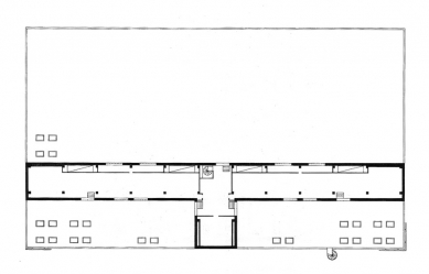 Obchodní středisko Uran - Půdorys 2.np