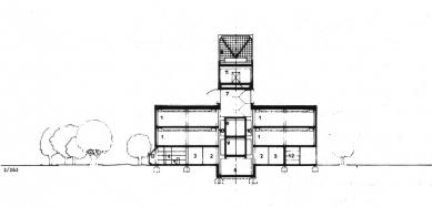 Obchodní středisko Uran - První projekt nákupního střediska Uran z roku 1975.