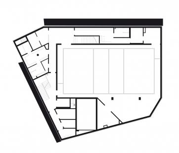 Bytový dům s tělocvičnou - 1PP