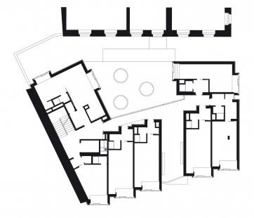 Bytový dům s tělocvičnou - 3NP
