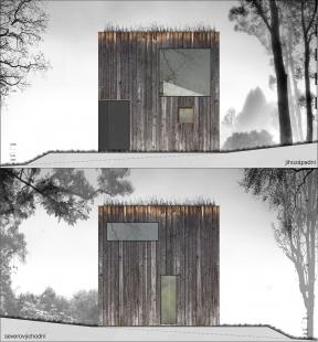 Zahradní domek - Pohledy