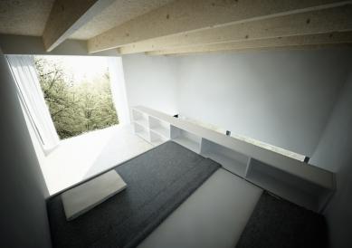 Zahradní domek - Vizualizace interiéru