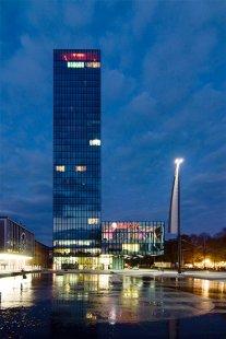 Messeturm - foto: Petr Šmídek, 2008