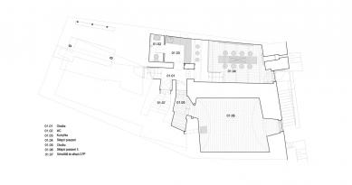 Rekonstrukce a úprava měšťanského domu - 1. PP
