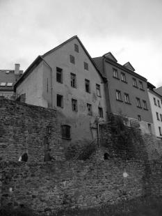 Rekonstrukce a úprava měšťanského domu - Původní stav - foto: archiv Znamení čtyř